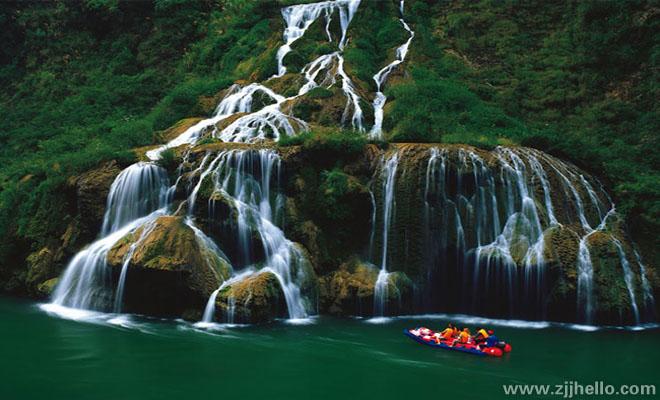 茅岩河漂流